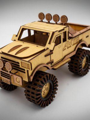 Timberworks Off-road fa modellautó