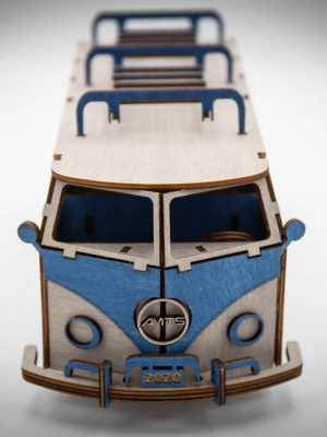 TimbeWorks fa modellautó Hippie Bus